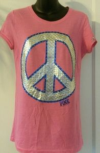 Pink victoria's secret tshirt